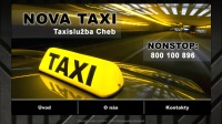 NONSTOP Taxi Cheb - 800 100 896, NOVA TAXI, přeprava osob, drink servis